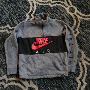 Men's Nike 1/2 Zip Pullover Sweatshirt Sz L GUC